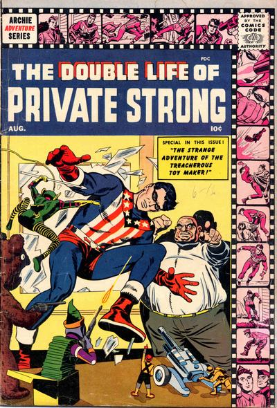 Double Life of Private Strong Vol 1 2