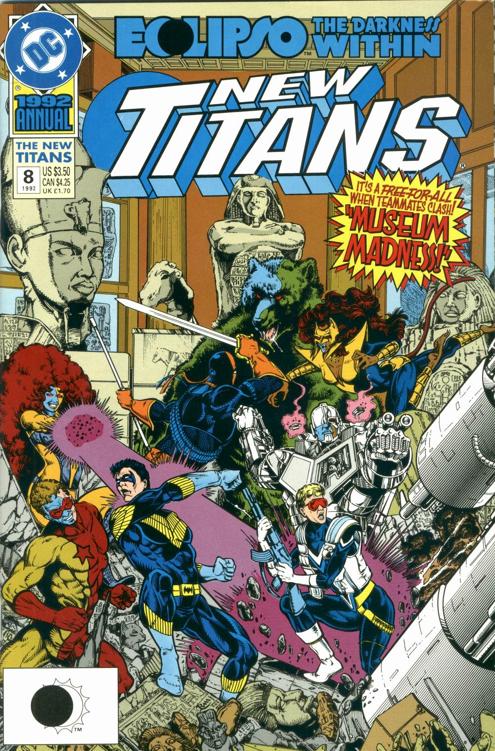 New Titans Annual Vol 1 8