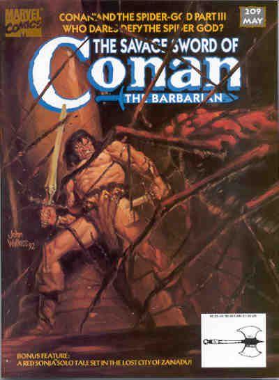 Savage Sword of Conan Vol 1 209