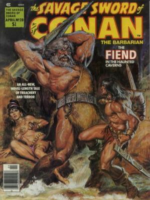 Savage Sword of Conan Vol 1 28