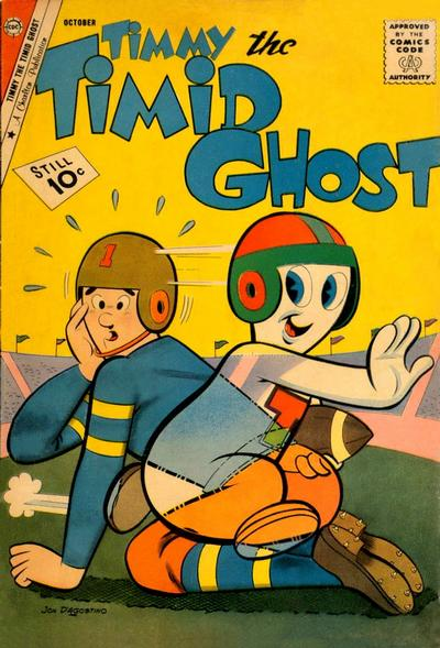 Timmy the Timid Ghost Vol 1 29