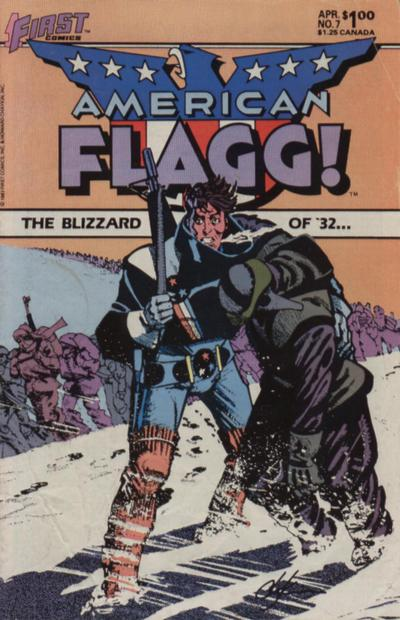 American Flagg Vol 1 7