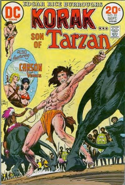 Korak Son of Tarzan Vol 1 53