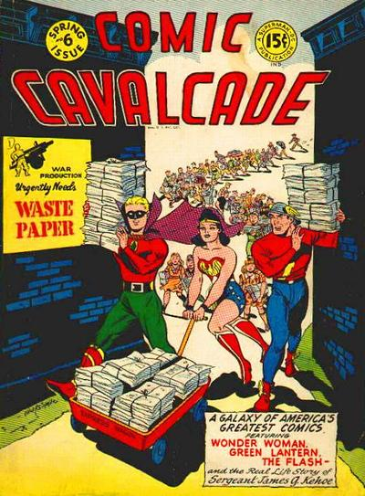 Comic Cavalcade Vol 1 6