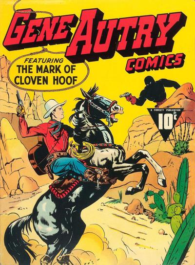 Gene Autry Comics Vol 1 1