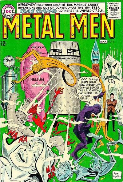 Metal Men Vol 1 6