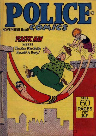 Police Comics Vol 1 60