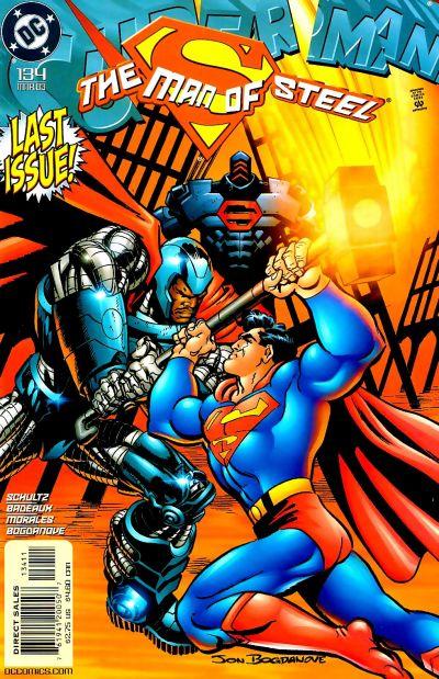Superman: Man of Steel Vol 1 134