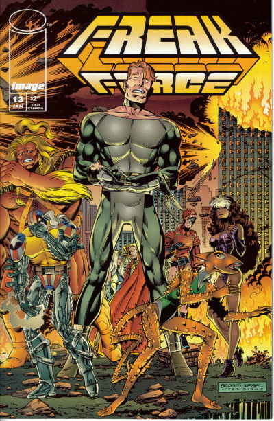 Freak Force Vol 1 13