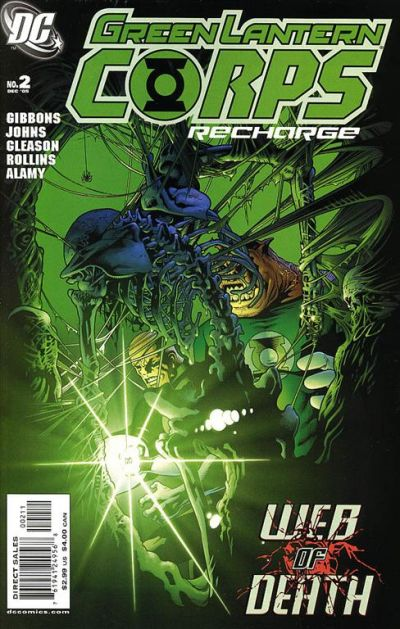 Green Lantern Corps: Recharge Vol 1 2
