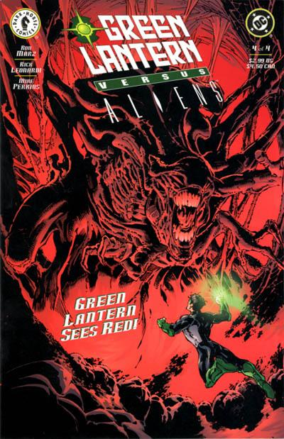 Green Lantern vs. Aliens Vol 1 4
