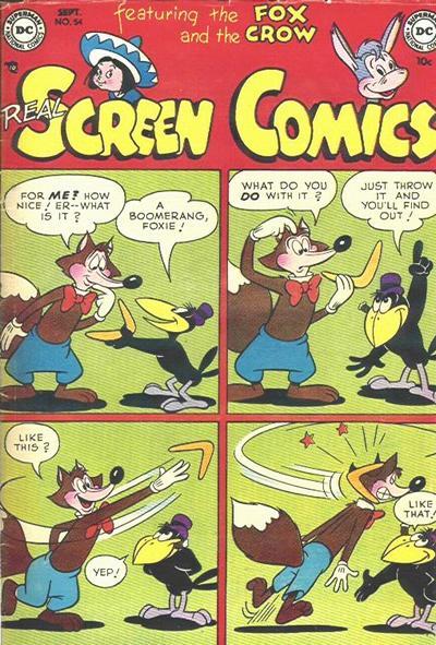 Real Screen Comics Vol 1 54