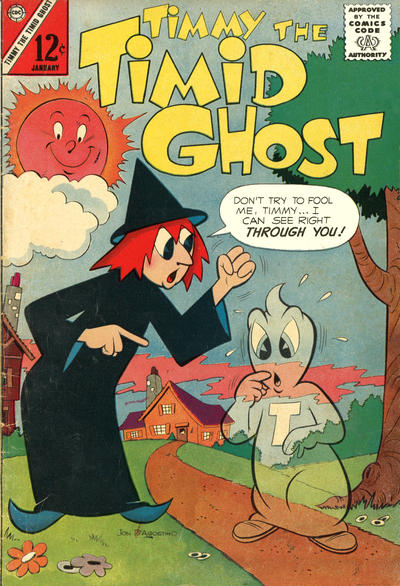 Timmy the Timid Ghost Vol 1 36