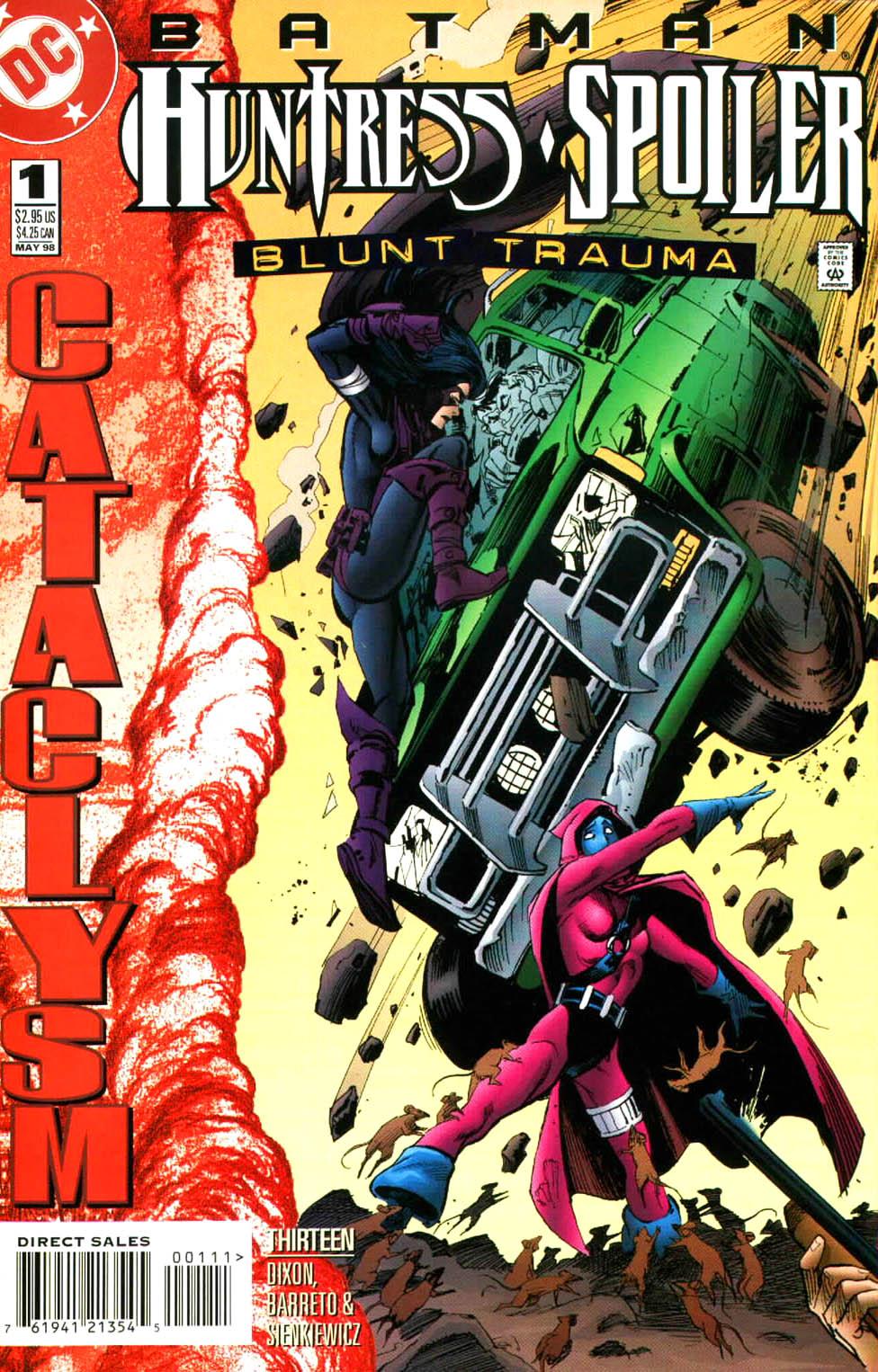 Batman: Huntress & Spoiler Vol 1 1