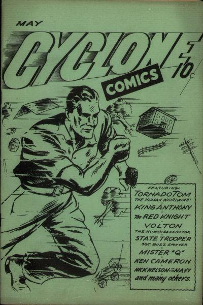 Cyclone Comics Vol 1