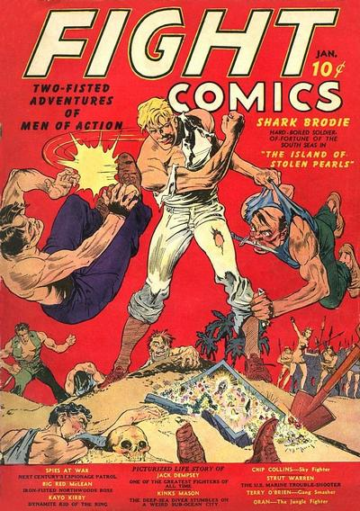 Fight Comics Vol 1 1