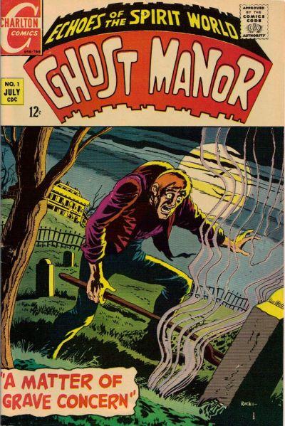 Ghost Manor Vol 1