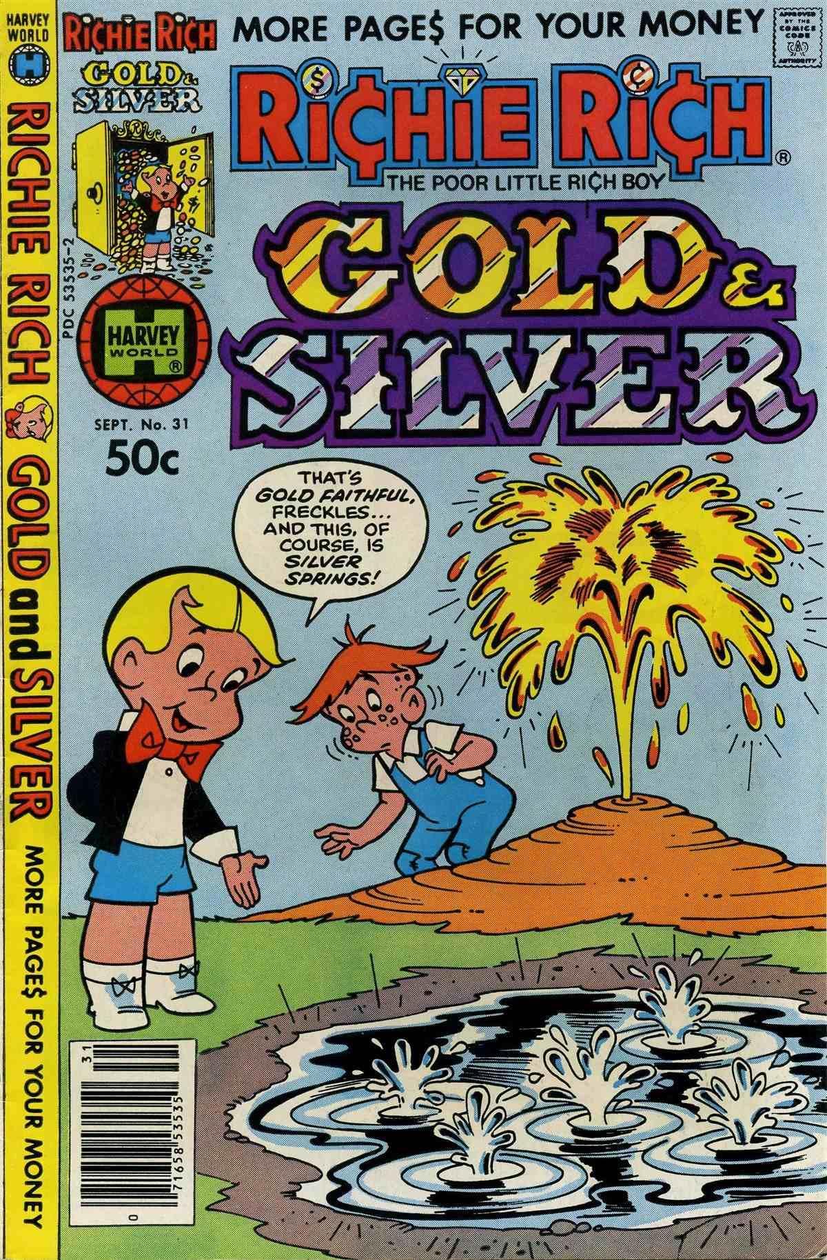Richie Rich Gold & Silver Vol 1 31