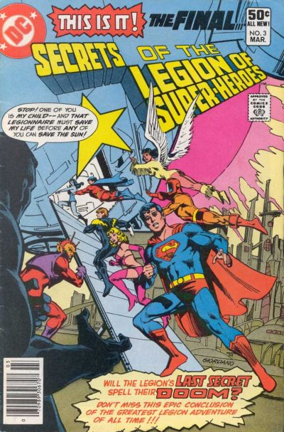 Secrets of the Legion of Super-Heroes Vol 1 3