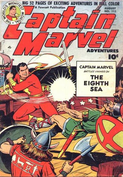 Captain Marvel Adventures Vol 1 111