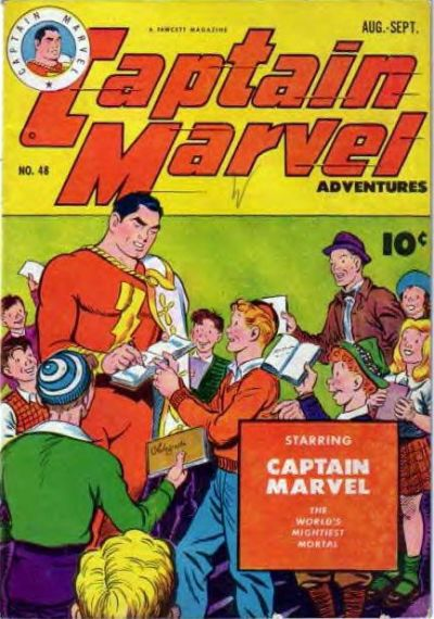 Captain Marvel Adventures Vol 1 48