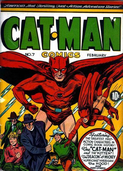 Cat-Man Comics Vol 1 7