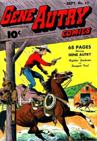 Gene Autry Comics Vol 1 10