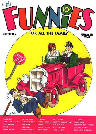 The Funnies Vol 2