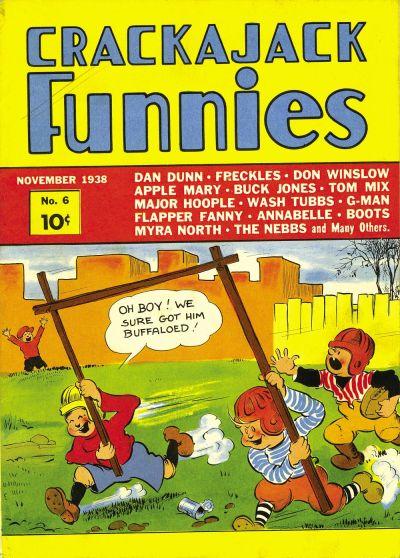 Crackajack Funnies Vol 1 6