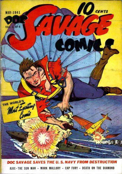 Doc Savage Comics Vol 1 4
