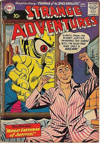 Strange Adventures Vol 1 91