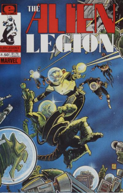 Alien Legion Vol 1 6