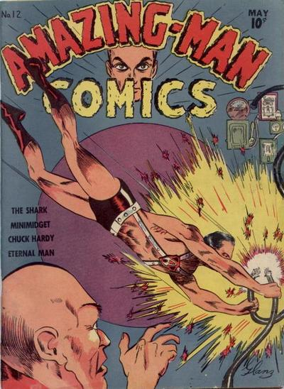 Amazing Man Comics Vol 1 12