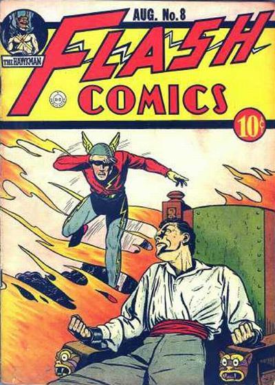 Flash Comics Vol 1 8