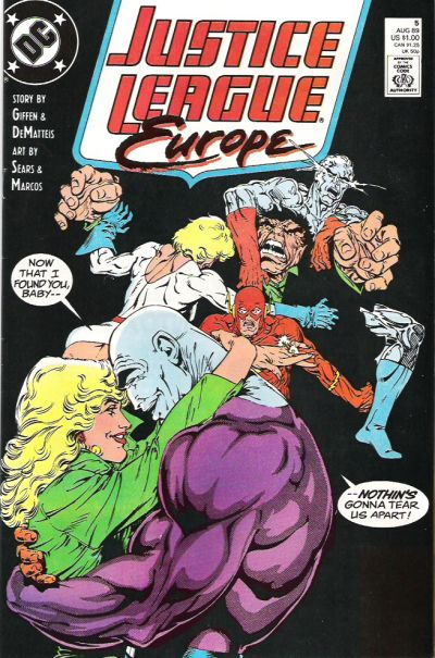 Justice League Europe Vol 1 5