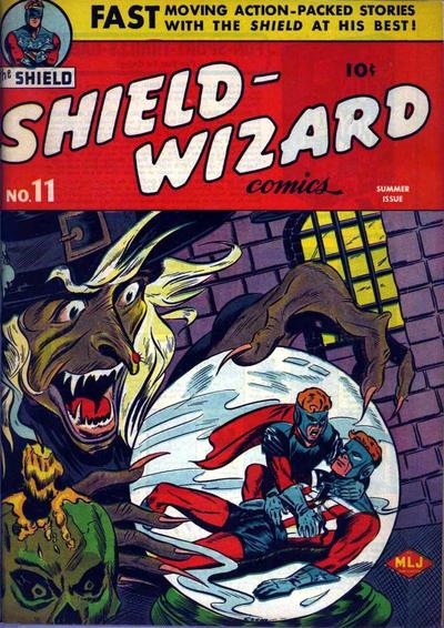Shield-Wizard Comics Vol 1 11