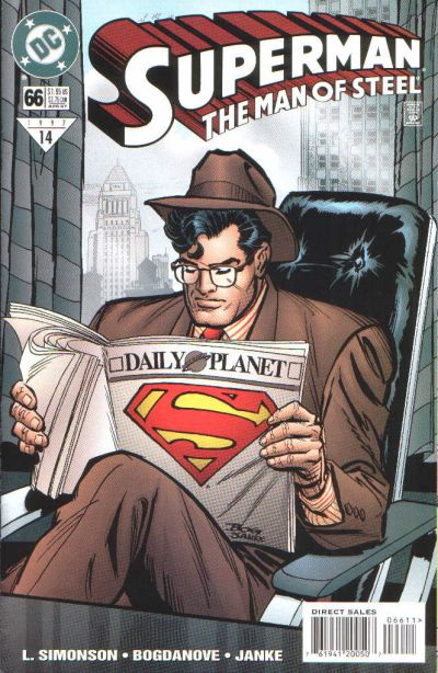 Superman: Man of Steel Vol 1 66