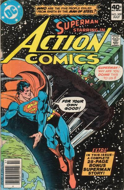 Action Comics Vol 1 509