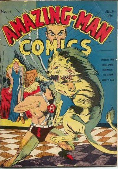 Amazing Man Comics Vol 1 14