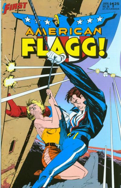 American Flagg Vol 1 36