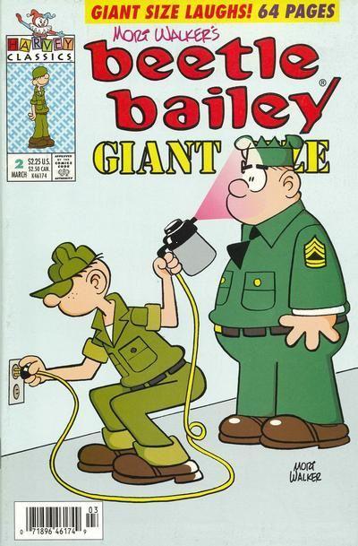 Beetle Bailey Giant Size Vol 1 2