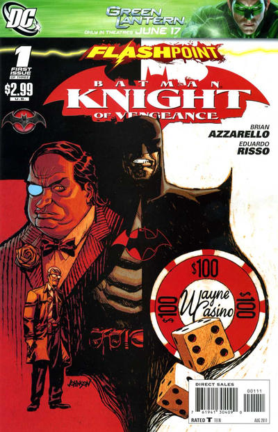 Flashpoint: Batman - Knight of Vengeance Vol 1 1