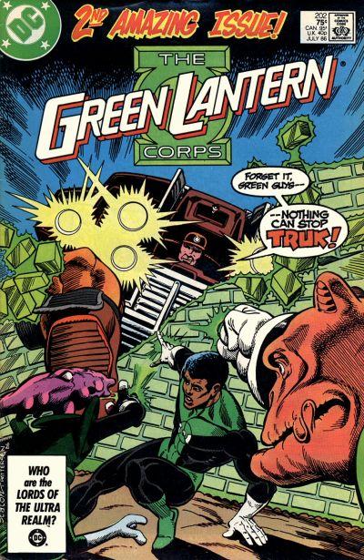 Green Lantern Corps Vol 1 202