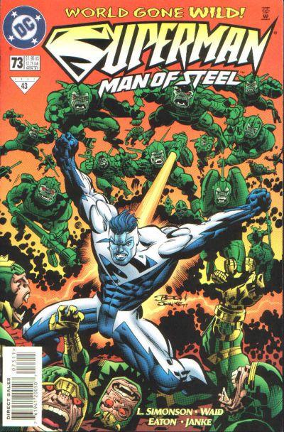 Superman: Man of Steel Vol 1 73