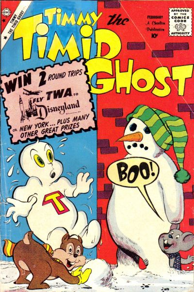 Timmy the Timid Ghost Vol 1 19