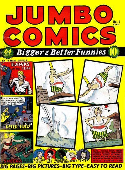Jumbo Comics Vol 1