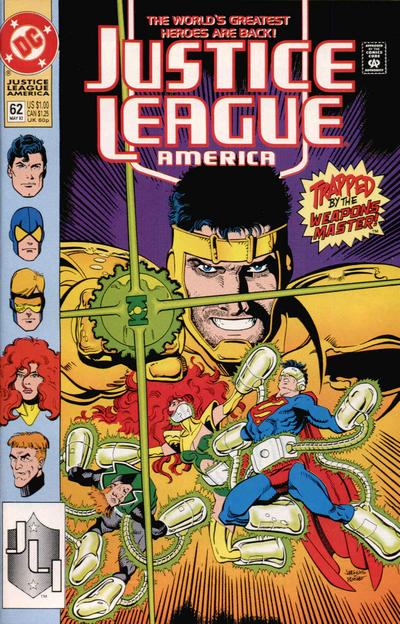 Justice League America Vol 1 62