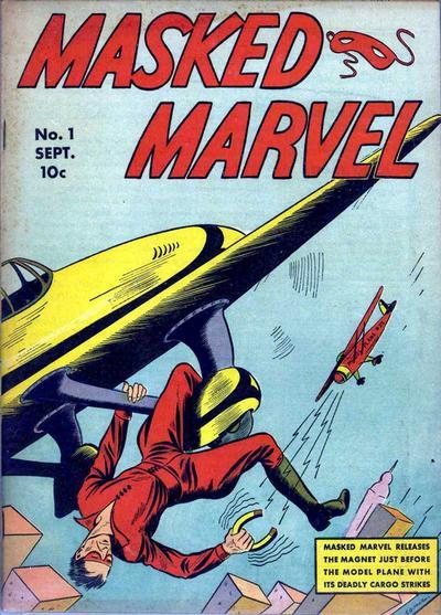 Masked Marvel Vol 1