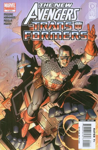 New Avengers Transformers Vol 1 1