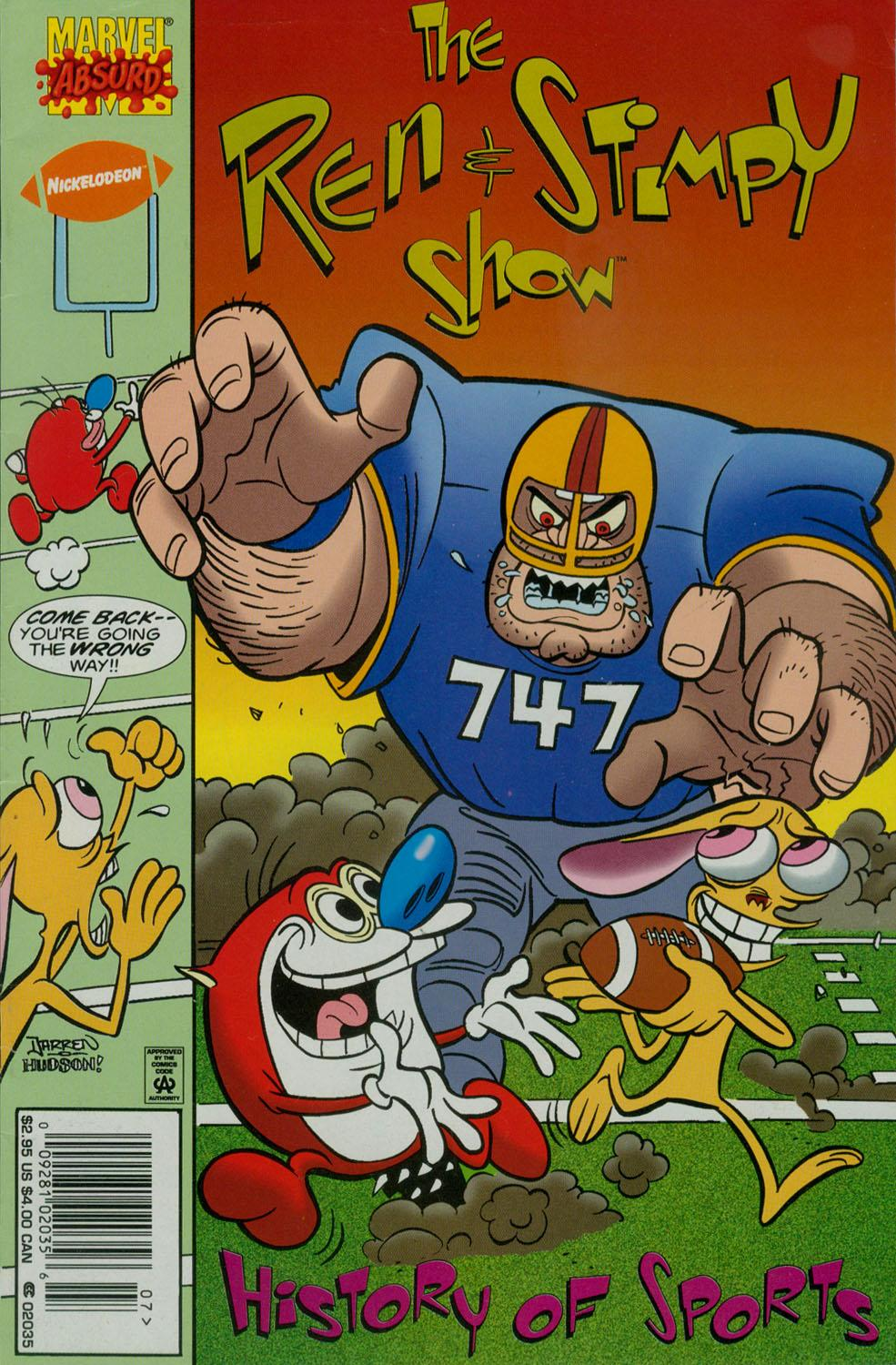 The Ren & Stimpy Show Special: Sports Vol 1 1